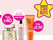STAR BUYS Superdrug NIP&FAB £2.50 Highlighters Half Price