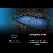 1p/month for 6 Months - Eurosport Player Amazon Prime