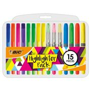Bic Highlighters 15 Pack