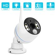 Proper CCTV with Floodlight, Siren Alarm & Two Way Talking (50% Off)