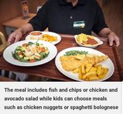 Morrisons Cafe 2 Adults & 2 Kids Eat for £10 in January