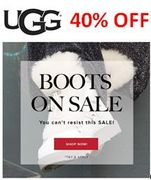 UGG BOOTS on SALE - up to 40% OFF