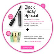 Free 7-Piece Gift with Orders over £45 at Clinique