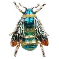 Fashionable Bumble Bee Crystal Brooch Pin Costume Badge