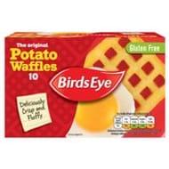 Birds Eye 10 Original Potato Waffles 567g