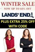 Extra 25% off All Sale Prices with THIS CODE at LANDS END