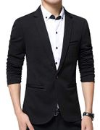 Men's Suit Jacket Blazer Suit Coat Slim Fit One Botton Business Jacket on Amazon