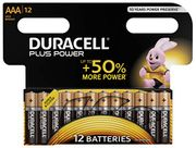 41% OFF. Save £4. Duracell Plus Power AAA Alkaline Batteries (12 Pack)