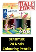 HALF PRICE at AMAZON: Staedtler Noris Colour Colouring Pencils (24 Pack)