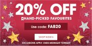 20% off on Handpicked Favourites at Book People