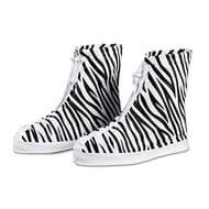 Reusable Rainproof / Snowproof Non-Slip Shoe Covers - 4 Designs