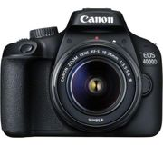CANON EOS 4000D DSLR Camera with EF-S 18-55 Mm f/3.5-5.6 III Lens