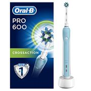 Oral-B Pro 600 CrossAction Electric Toothbrush Rechargeable Powered by Braun