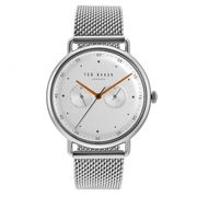 Ted Baker George Silver Tone Wristwatch £85 H.S Johnson