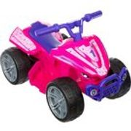 Roadsterz Volt 6V Electric Ride on Quad - Pink