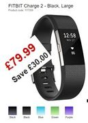 SAVE £30 - FITBIT Charge 2