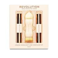 Revolution Creme Highlight Amd Contour Kit - Fair