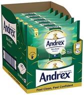 Andrex Skin Kind Flushable Washlets with Aloe Vera, Pack of 12