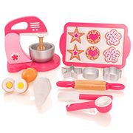 Amazon Kids Wooden Baking Play Accessories