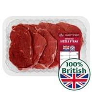 Morrisons Market St Brit Beef Sizzle Steak 380g