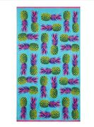 Home Collection - Multi-Coloured Pineapple Print Beach Towel Only £6.00