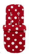 Mothercare Fleece Cosytoe - Red Spot Only £12.00