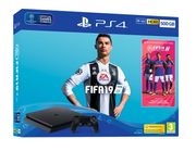 500GB PLAYSTATION 4 with FIFA 19+GAMEWARE CHAT HEADSET and NOW TV Only £249.99