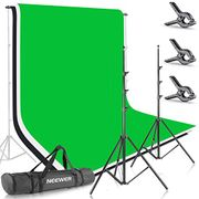 Neewer Photo Video Studio Backdrop and Support Kit: 5x7feet/1.5x2meters