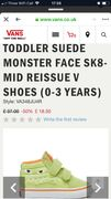 Toddler Suede Monster Shoes