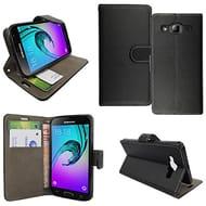 Samsung Galaxy J3 (2016) Case Flip PU Leather Credit Card Slots