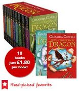 74% OFF! How to Train Your Dragon - 10 Books - Collection