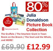 BESTSELLER Save £56! Julia Donaldson Picture Book Collection - 10 Books