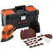 Black & Decker Mouse Sander Kit with 16 Inch Toolbox and Accessories
