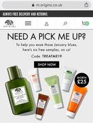 Free Six Samples with order, no minimum spend
