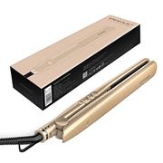 43% offETEREAUTY Titanium Flat Iron 2 in 1 Straightener and Curler