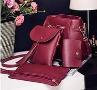 4pcs Women Bag Set Composite Bag 6 Color