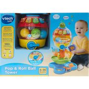 VTECH BABY Multicolour Pop & Roll Ball Tower 45x33cm