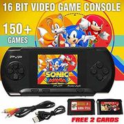 16 Bit Video Game Console 150 Games