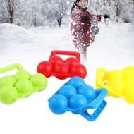 Winter Snowball Maker Clip Sand Mold Tool Kids Toy Fight Outdoor Sports Faddish