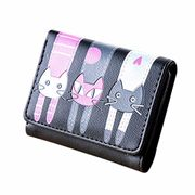 Cat Pattern Coin Purse Card Holder