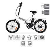 Nilox E Bike X1 New, Electric Bike, White