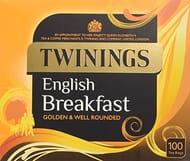 Prime Exclusive: Twining English Breakfast 100 Tea Bags (4 Pack, 400 Tea Bags)