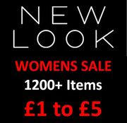 NEW LOOK Sale - 1200+ Items priced from £1 to £5 !