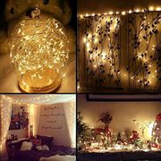 5M 50LEDs String Lamp Fairy Lights Wedding Party Christmas Decorations