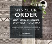 Win Back the Cost of Your Order (1 Selected Each Day)