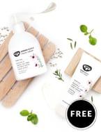 FREE Hand Cream with Orders of 2 Manuka & Lemon Tea Tree Hand Washes