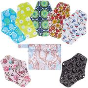 Reusable Sanitary Towels Pads(7 in 1, 25.4cm), Heavy Flow Cloth