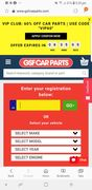 60% off Car Parts at GSF Car Parts