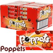 Poppets Chewy Toffee (Case of 36 Boxes)