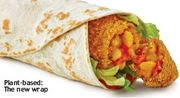 Mcdonalds Veggie Wrap - £1.99 Wrap of the Day on Mondays